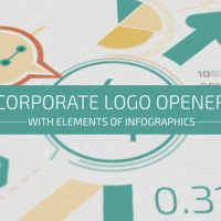 VIDEOHIVE CORPORATE LOGO OPENER WITH ELEMENTS OF INFOGRAPHICS