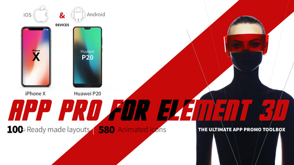 VIDEOHIVE APP PRO FOR ELEMENT 3D - Free After Effects
