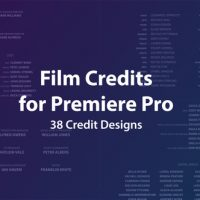 VIDEOHIVE FILM CREDITS KIT