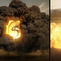 VIDEOHIVE EXPLOSION LOGO