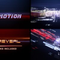 VIDEOHIVE FAST MOTION (LOGO REVEAL)