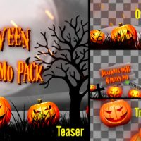 VIDEOHIVE HALLOWEEN TEASER PROMO PACK