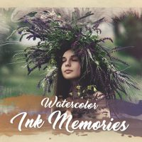VIDEOHIVE WATERCOLOR INK MEMORIES