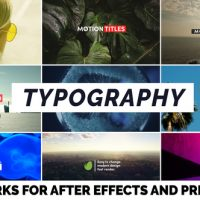 VIDEOHIVE TYPOGRAPHY 22401668