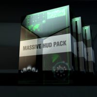 VIDEOHIVE MASSIVE HUD PACK