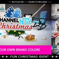 VIDEOHIVE MERRY CRAZY CHRISTMAS – FUNNY OPENER