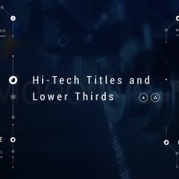 VIDEOHIVE HI-TECH TITLES AND LOWER THIRDS