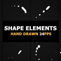 VIDEOHIVE SHAPE ELEMENTS PACK 22174692