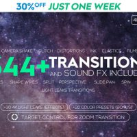 VIDEOHIVE FCPX 344+ TRANSITIONS AND SOUND FX