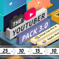 VIDEOHIVE THE YOUTUBER PACK – FINAL CUT PRO X