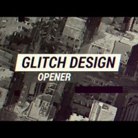 VIDEOHIVE GLITCH DESIGN OPENER – APPLE MOTION & FINAL CUT PRO X
