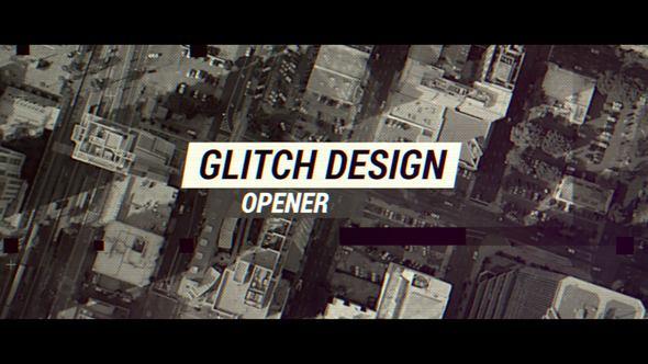 VIDEOHIVE GLITCH DESIGN OPENER - APPLE MOTION & FINAL CUT PRO X