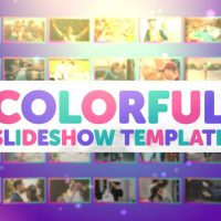 VIDEOHIVE COLORFUL SLIDESHOW 22043785