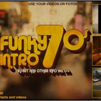 VIDEOHIVE FUNKY INTRO