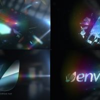 VIDEOHIVE SHATTERED GLASS – MIRROR LOGO TEXT REVEAL