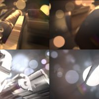 VIDEOHIVE GOLD & SILVER LOGO TEXT REVEAL