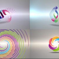 VIDEOHIVE CLEAN RADIAL LOGO REVEAL PACK