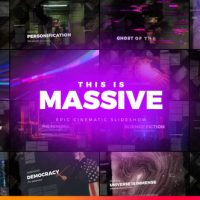 VIDEOHIVE MASSIVE – EPIC CINEMATIC SLIDESHOW
