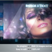 VIDEOHIVE BLUE DNA SLIDESHOW