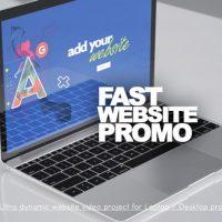 VIDEOHIVE FAST WEBSITE PROMO