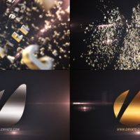 VIDEOHIVE LETTERS LOGO TEXT REVEAL