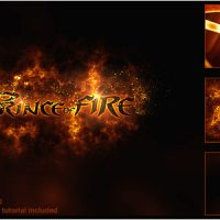 VIDEOHIVE PRINCE OF FIRE LOGO