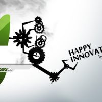 VIDEOHIVE HAPPY INNOVATIONS – FUN CLEAN MECHANICAL LOGO
