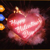 VIDEOHIVE HEART LOVE LOGO