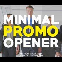 VIDEOHIVE MINIMAL PROMO OPENER