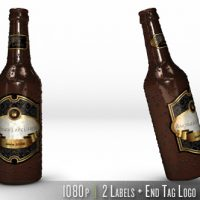 VIDEOHIVE PERSONALIZED BOTTLE OF BEER
