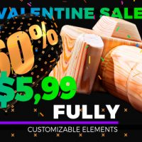 VIDEOHIVE GRAND SALE – HEARTS STYLE