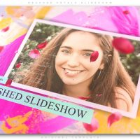 VIDEOHIVE BRUSHED PETALS SLIDESHOW
