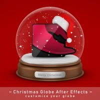 VIDEOHIVE CHRISTMAS GLOBE ELEMENTS