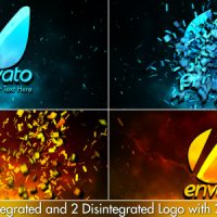 VIDEOHIVE CINEMATIC FIRE SHATTER LOGO