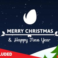 VIDEOHIVE COLORFUL CHRISTMAS CARD