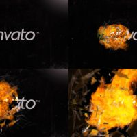 VIDEOHIVE EXPLOSION – GLASS & FIRE