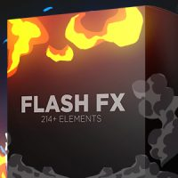 VIDEOHIVE FLASH FX ELEMENTS | HAND DRAWN BUNDLE PACK – MOTION GRAPHIC