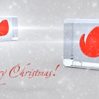 VIDEOHIVE CHRISTMAS GLASSY DICES