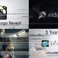 VIDEOHIVE GLITCH LOGO AND TRANSITIONS