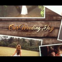 VIDEOHIVE WEDDING GOLD SLIDESHOW
