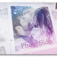 VIDEOHIVE INKED FLYING PHOTO SLIDES
