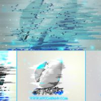 VIDEOHIVE BAD SIGNAL 3D SHATTERED LOGO