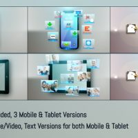 VIDEOHIVE MOBILE-TABLET APPS PROMO