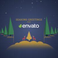 VIDEOHIVE PARALLAX CHRISTMAS GREETINGS 21009108