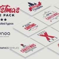 VIDEOHIVE CHRISTMAS TITLE PACK – PREMIERE PRO