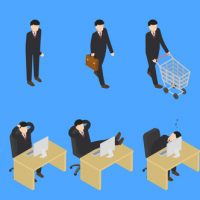 VIDEOHIVE ISOMETRIC PEOPLE