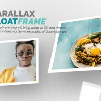VIDEOHIVE FLOAT FRAME SLIDESHOW