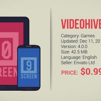 VIDEOHIVE ANDROID APP COMMERCIAL