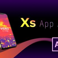 VIDEOHIVE PHONE XS APP AD