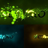 VIDEOHIVE PARTICLE STORM LOGO REVEAL